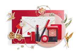 耶誕限定彩妝繽紛浪漫風