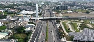 用路人看過來!台中中科路西行廣福陸橋   匝道將限縮施工