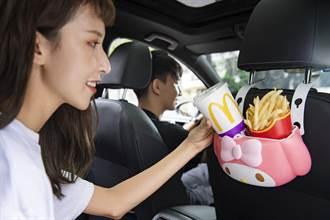 日本热销一空的麦当劳「美乐蒂置物篮」 台湾周三开抢