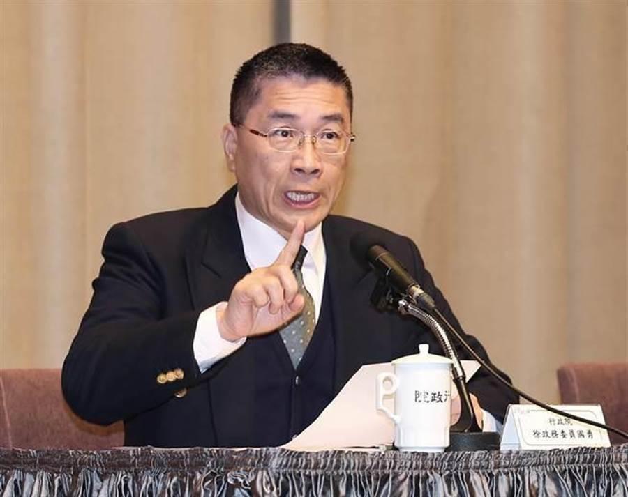 內政部長徐國勇。(中時資料照)