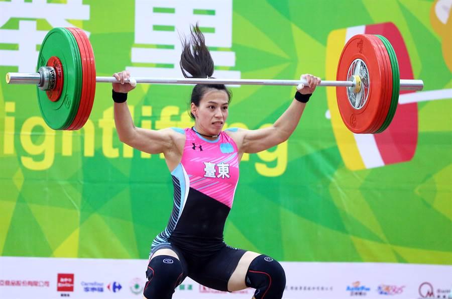 舉重女神郭婞淳去年勇奪亞錦賽和世錦賽兩場大賽冠軍,連續3年入圍國際舉總年度最佳女運動員獎。(陳信翰攝/資料照)