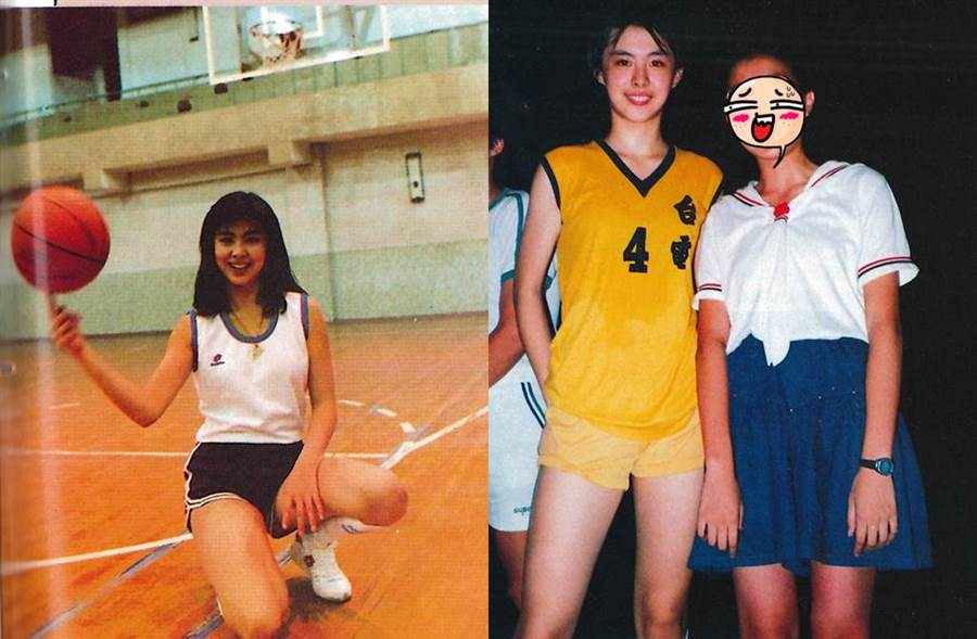 王祖賢曾加入台電女籃隊。(圖/取自「籃球紙箱」臉書)