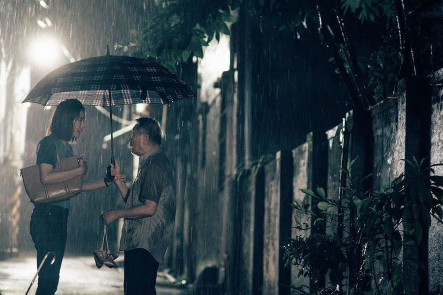 蔡淑臻(右)、陳武雄短片《燒肉粽2019》。(金馬執委會提供)
