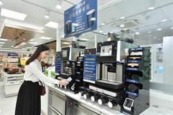 全家科技2號店北市開幕   全球首創智能咖啡機吸睛