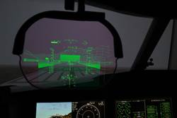 紳寶強化視覺飛行儀 協助飛機在雨霧天降落