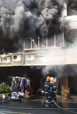 台南工寮火警殃10宅 緊急安置29人