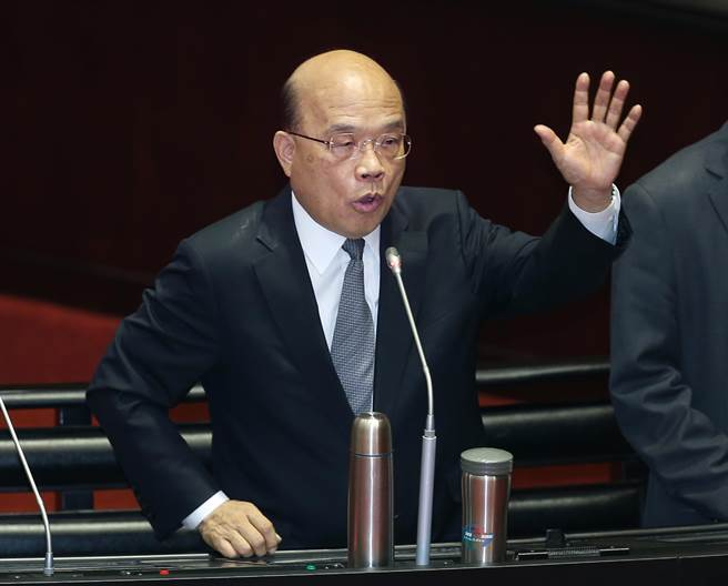 針對馬國遇害女大生家屬要求台灣對凶手判極刑,行政院長蘇貞昌今回應表示,一定會嚴懲兇手。(中時資料照)