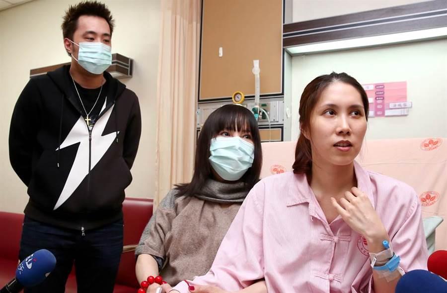 余苑绮直肠癌復发,让余家气氛陷入低气压。(图/中时资料照)