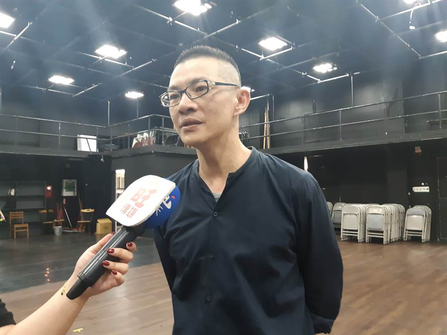 玄奘大學影劇藝術系主任 李智翔表示 : 主持人大賽的活動,其實可以讓學生發揮自己的表演實力,增加同學表演上的幫助。(時際創意傳媒提供)。