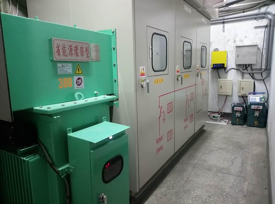 雲林虎尾科技大學建置小型校園發電廠,綠能發電不必外求。(許素惠攝)
