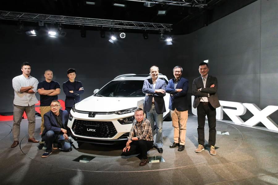 納智捷總經理蔡文榮感謝各界台灣之光特別前來交流,同時正式宣布LUXGEN全新世代SUV-URX全車系預售價(納智捷提供/黃琮淵傳真)