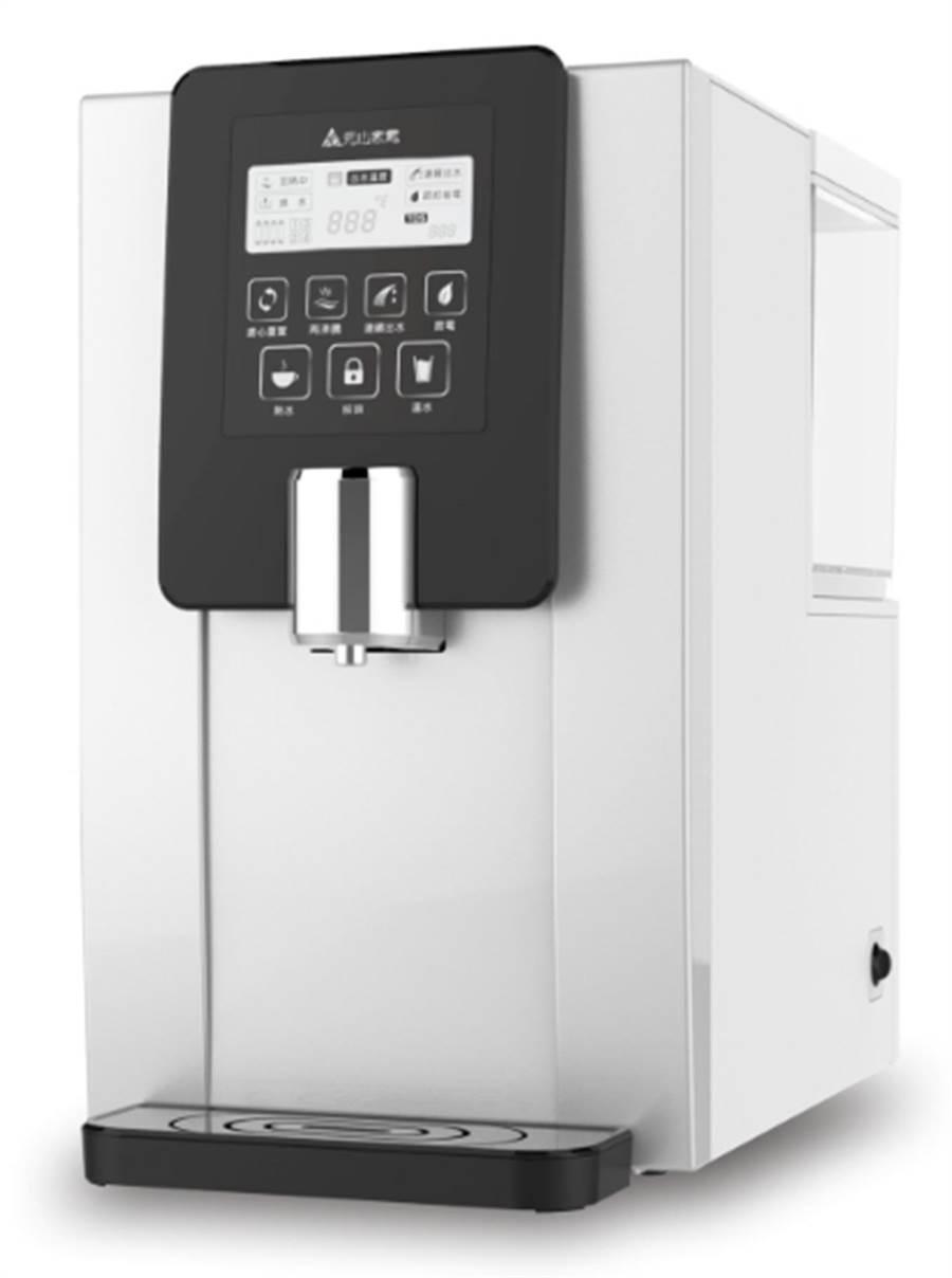 全國電子的元山免安裝移動式RO淨飲機,原價1萬2800元,特價1萬980元,客訂交貨,送時尚保冷手提袋。(全國電子提供)