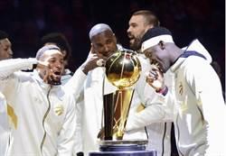 NBA》暴龍頒發冠軍戒 空運送給林書豪