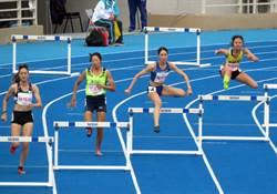 全運會台東縣羅佩琳400跨欄摘后完成4連霸