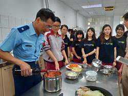 新化高中老師比廚藝 學生大飽口福
