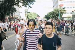 邱志宇遭強吻 重返同志遊行協尋大肌肌男