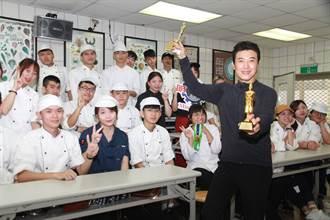 美型男主廚陳鴻獲頒馬來西亞兩項大獎
