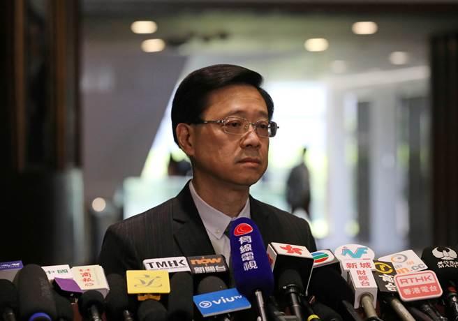 香港保安局局長李家超。(圖/路透)