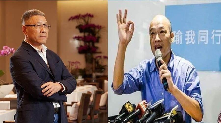 彰化立委參選人蕭景田(左)、國民黨2020總統參選人韓國瑜(右)。(圖/合成圖,本報資料照)