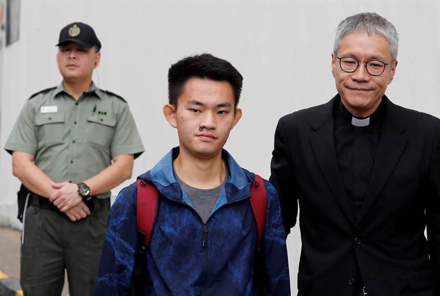 港女箱屍命案凶嫌陳同佳今出獄後表明願來台受審。(路透社)