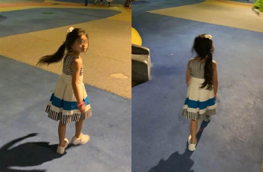 汪小菲分享女兒美照。(圖/翻攝自汪小菲微博)