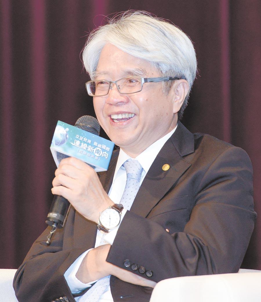 中國輸出入銀行理事主席林水永。圖/王德為