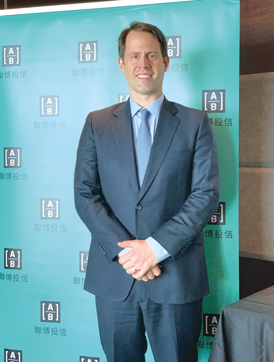 聯博集團全球多元固定收益投資組合經理馬修.謝爾頓(Matthew Sheridan)。圖/黃惠聆
