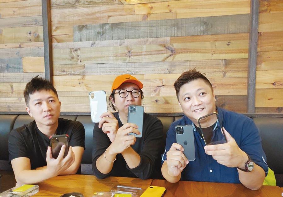 奇亞通信執行長古鎮豪(右一)在媒體會表示對普格爾的高級產品極具信心。圖/陳逸格