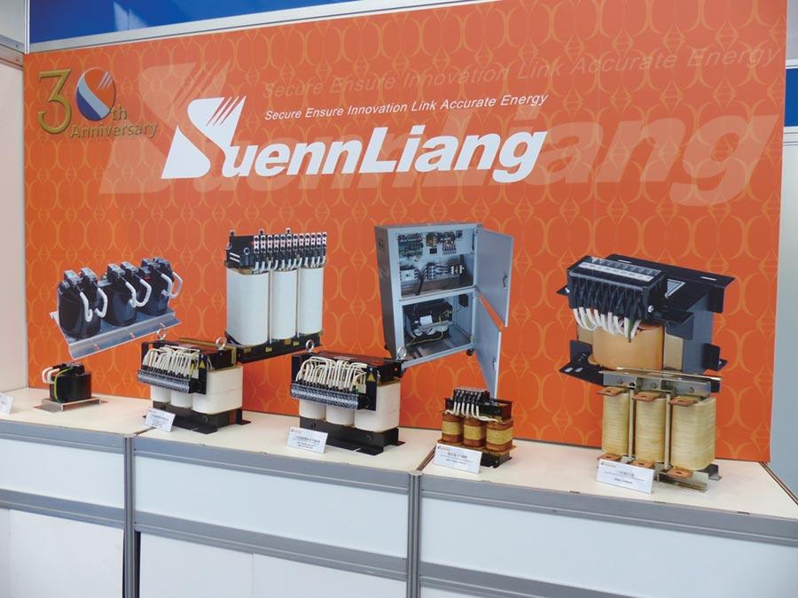順亮電機研發全系列變壓器、穩壓器與電抗器產品,充分支援PCB產業所需。圖/莊富安