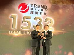 趨勢科技榮獲台灣最佳國際品牌調查第2名