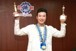 陳鴻獲頒馬國世界頂級廚師獎及最佳節目主持人獎