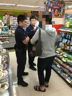 不死心!男子匯款受阻 另赴超商買點數終遭警阻攔