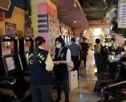 台南國賓影城樓下遊戲場 遭查獲百餘台賭博電玩
