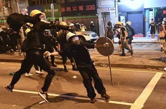 陸駐港公署官員批 反送中是喪心病狂暴力犯罪