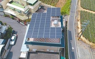 天晴能源推廣綠能 屋頂變電廠