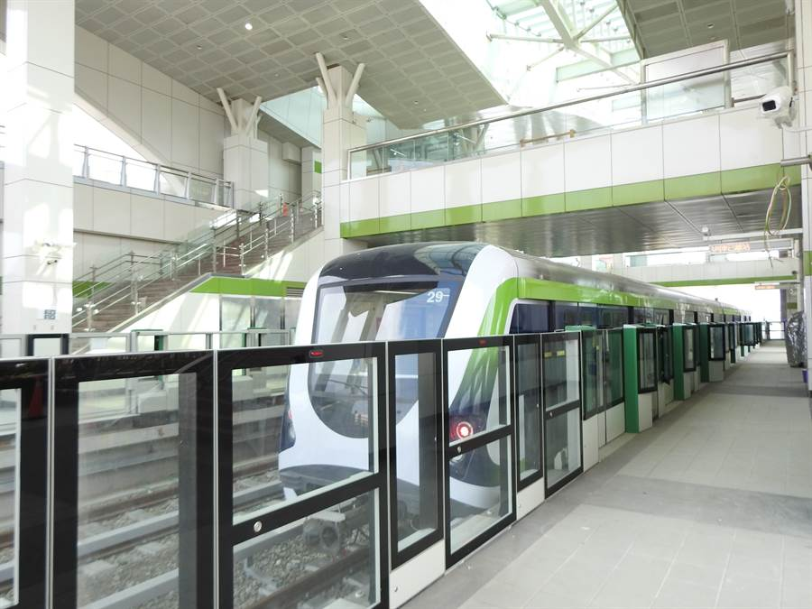 台中市政府積極推動軌道建設,捷運綠線將於2020年通車營運。(台中市捷運公司提供/陳世宗台中傳真)