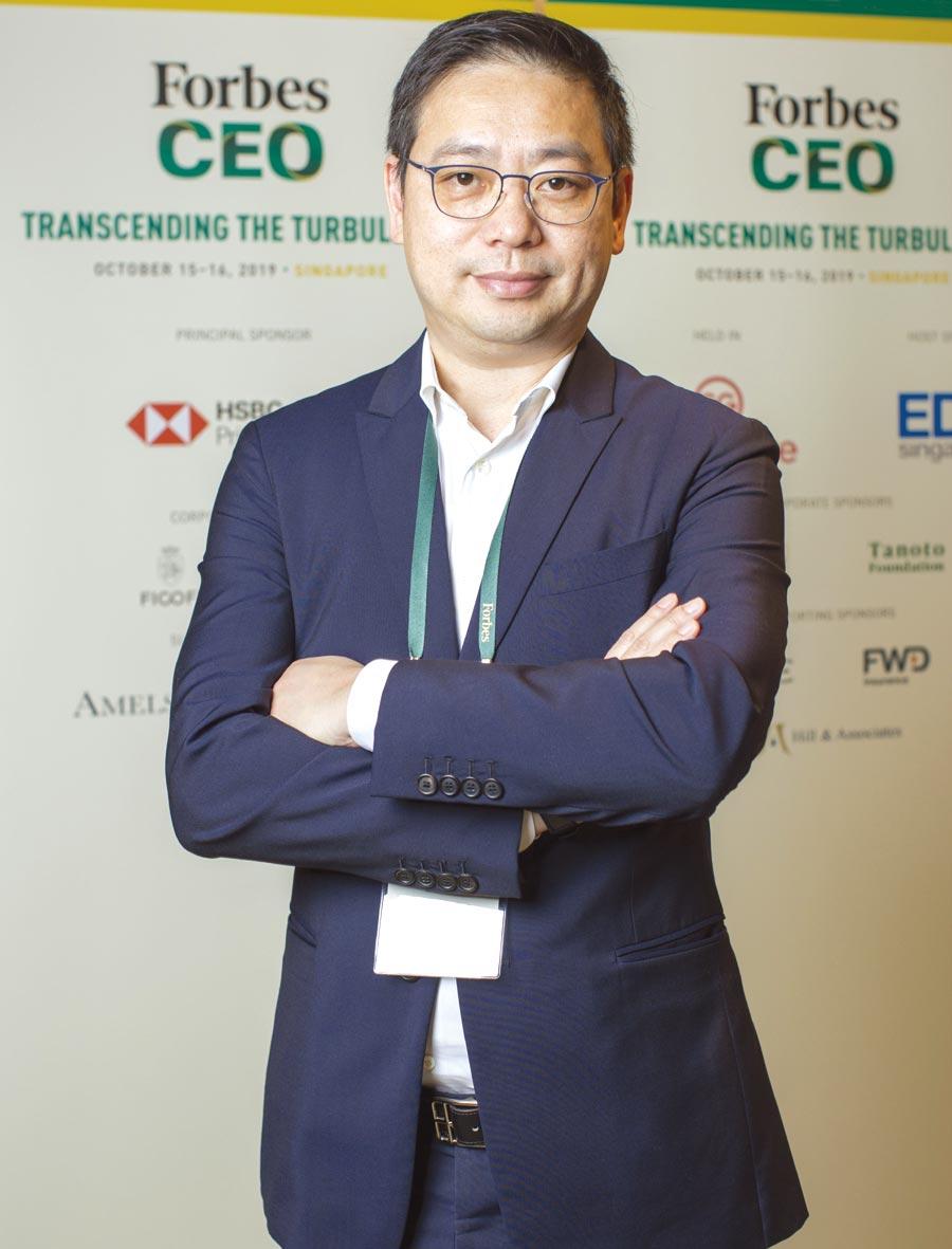 霈方國際董事長呂慶盛。圖/業者提供