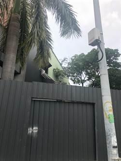 亞太電前進嘉義 街道測空氣品質