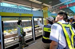 捷運新北環狀線 進行第一階段初勘作業