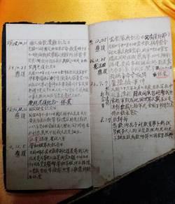 今天10月25日什麼日子?  73年前的筆記告訴你...