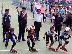 溜冰賽近千人同場競速 屏東將興建國際級溜冰場