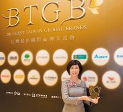 台達電連9年入選20大品牌