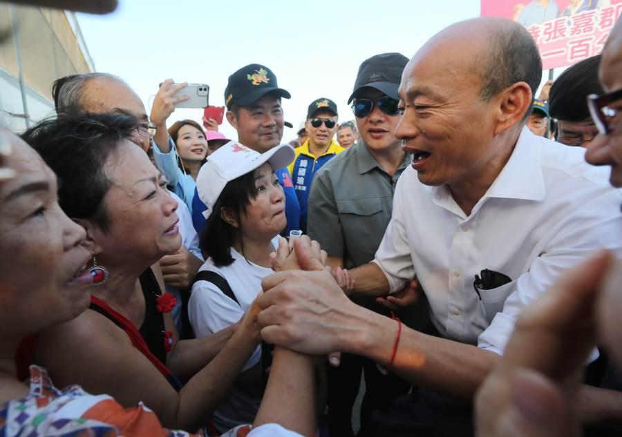 前高雄市長韓國瑜。(本報資料照 黃國峰攝)