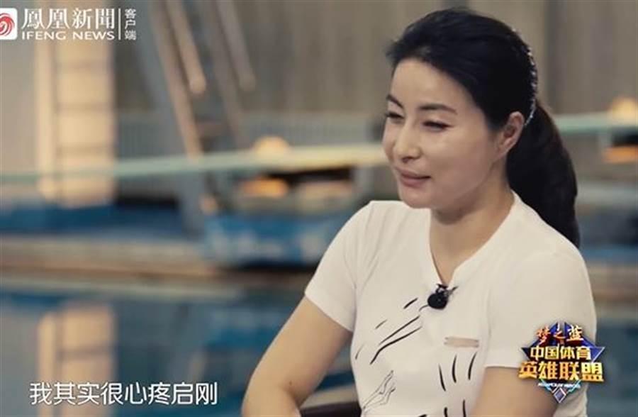 郭晶晶談豪門生活,坦言很心疼丈夫。(取自微博)