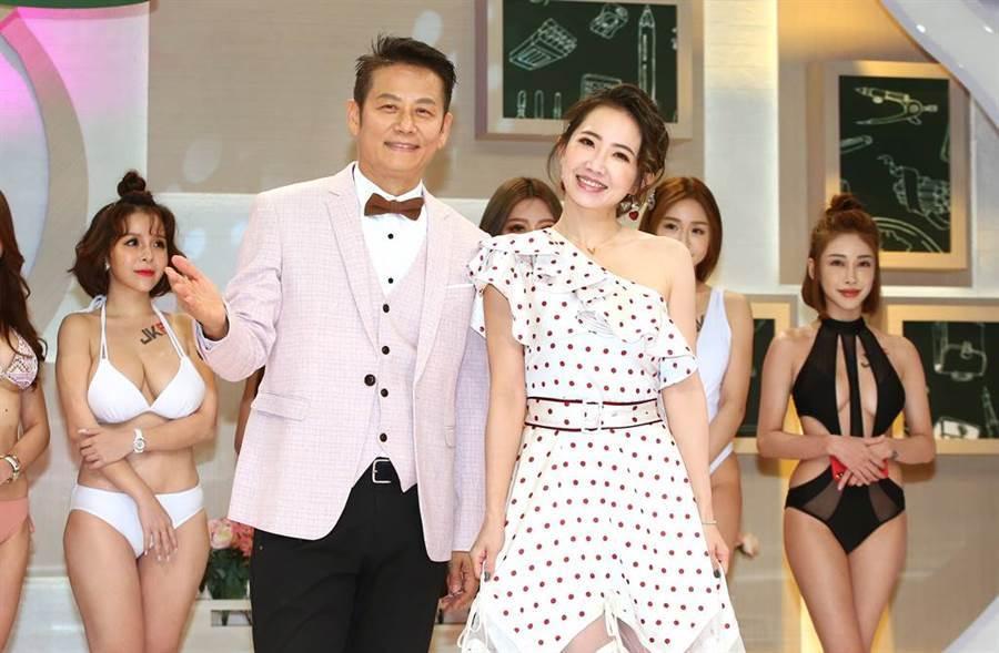 謝忻將與徐乃麟主持新節目《聚音》。(圖/中時資料照)