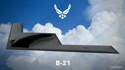 美B21突襲者戰略隱形轟炸機2021首飛無望