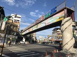 淡水一信陸橋拆除 中山、文化路明深夜起車道封閉