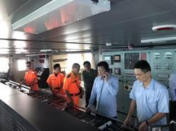 大陸船偷抽澎湖海砂 海巡攔截逮28人