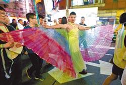 台灣首場跨性別遊行 吸睛