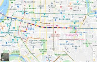 Google地圖 看見彩虹路線